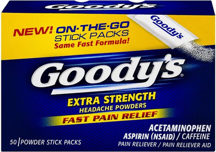 Goody's Extra Strength Headache Powder, , large image number 1