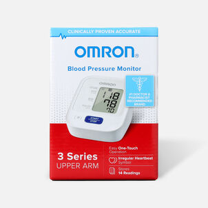 Omron 3 Series Upper Arm Blood Pressure Unit