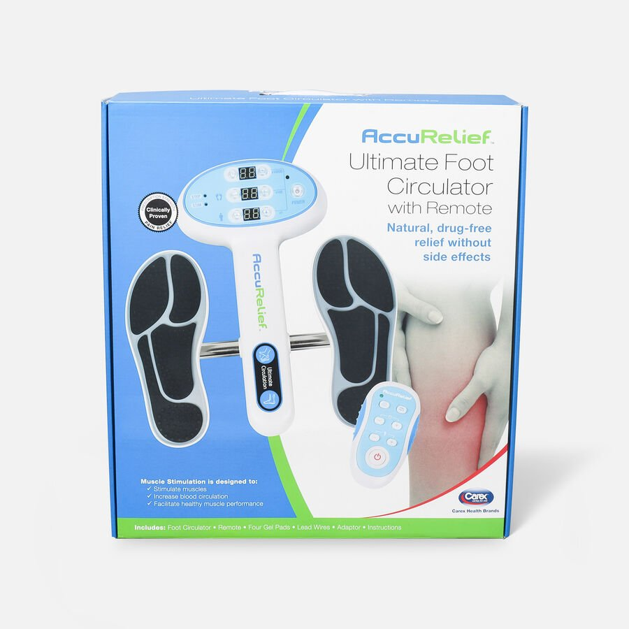 Ultimate Foot Circulator with Remote, , large image number 1