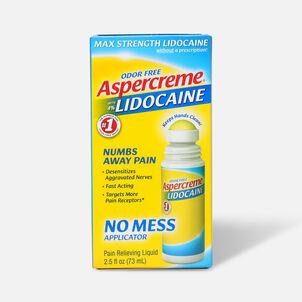 Aspercreme No Mess Roll-On with 4% Lidocaine, 2.5 fl. oz.