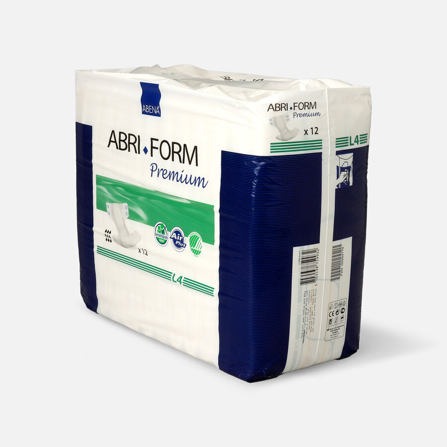 "Abena Abri-Form L4 Premium Adult Briefs, Large - 40"" - 60"", 12ct, , large image number 2"