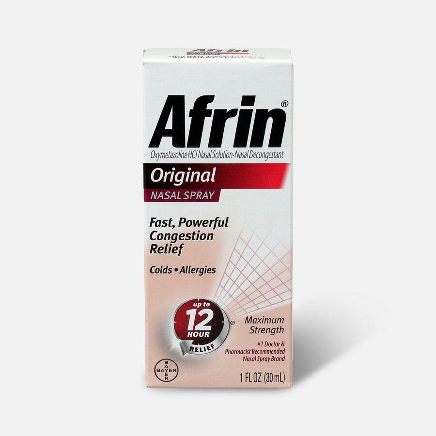 Afrin Original Nasal Spray, 1.0 oz, , large image number 0