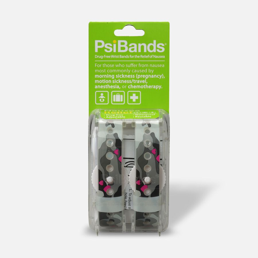 Psi Bands Nausea Relief Wrist Bands - Heart Land, , large image number 0