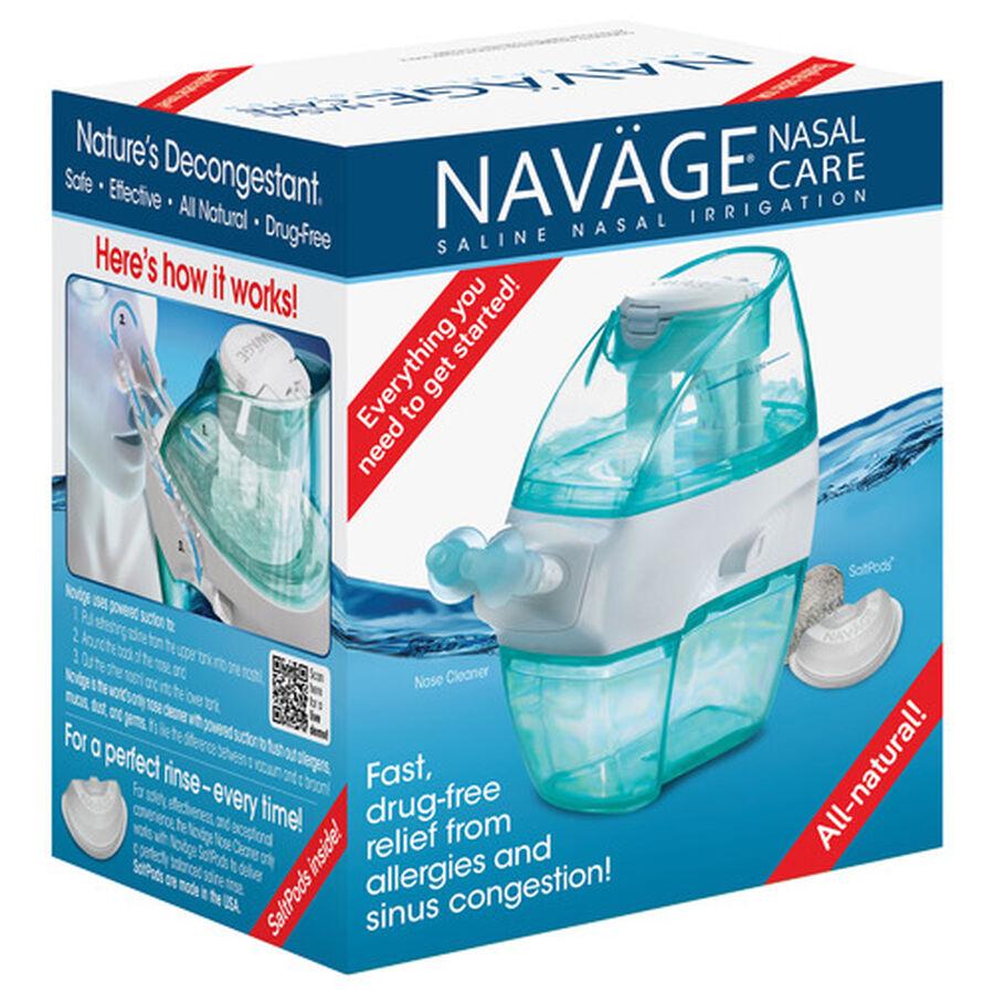 Navage Saline Nasal Irrigation Starter Kit, , large image number 0
