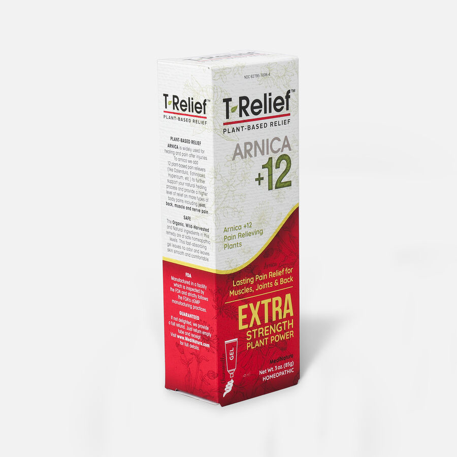 T-Relief Extra Strength Pain Relief Gel, 3 oz, , large image number 3