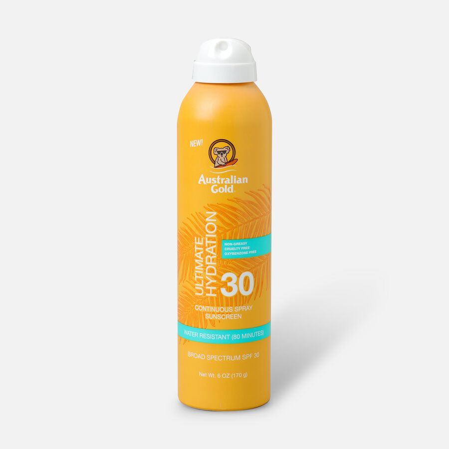 Australian Gold Continuous Spray, SPF 30, 6oz., , large image number 0