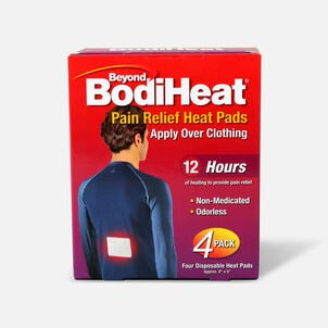 Beyond BodiHeat® Pain Relieving Heat Pads, 4 ea