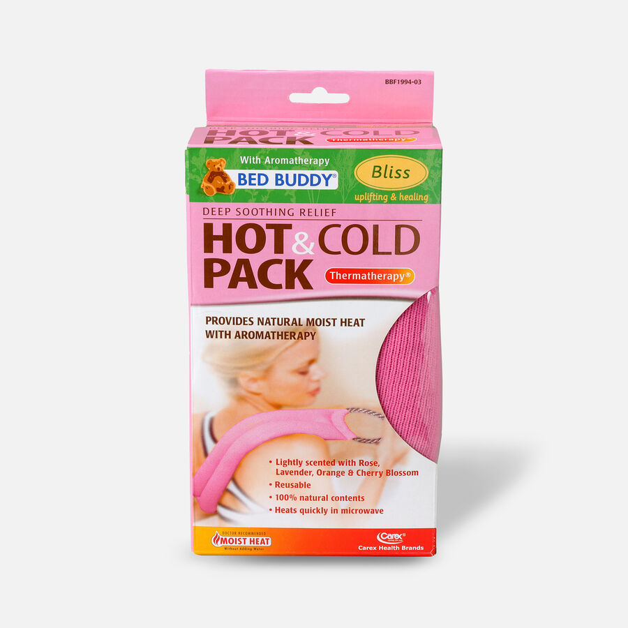 Bed Buddy Hot/Cold Wrap Aromatherapy Pink, , large image number 0