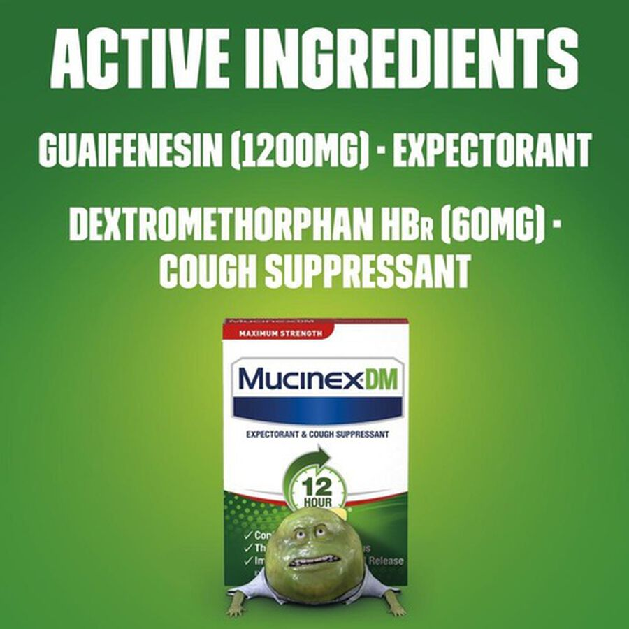 Mucinex Max Strength Extended Release Bi-Layer Tablets, 14 ct, , large image number 4