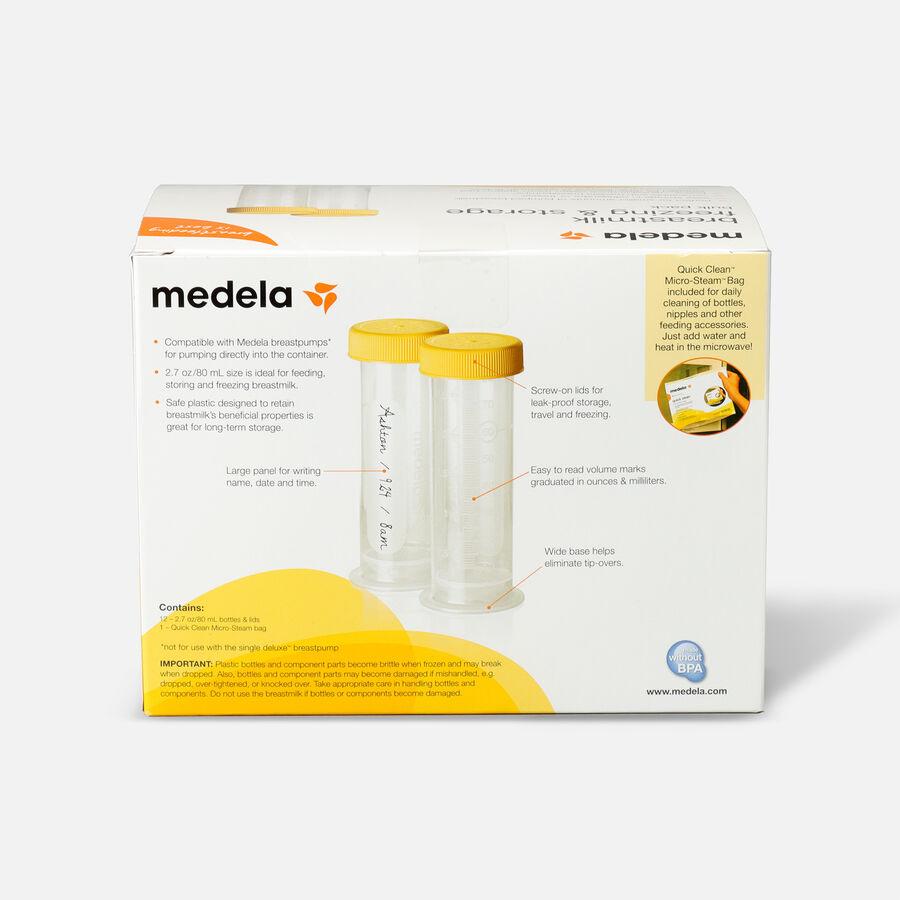 Medela 80 mL Breast Milk Freezing & Storage, 12 Pack, , large image number 1