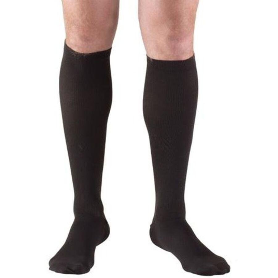 Truform Men's Dress Knee High Support Sock, 30-40 mmHg, Closed Toe, , large image number 8