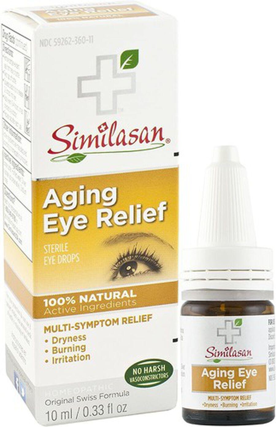 Similasan Aging Eye Relief, 0.33 fl. oz., , large image number 3