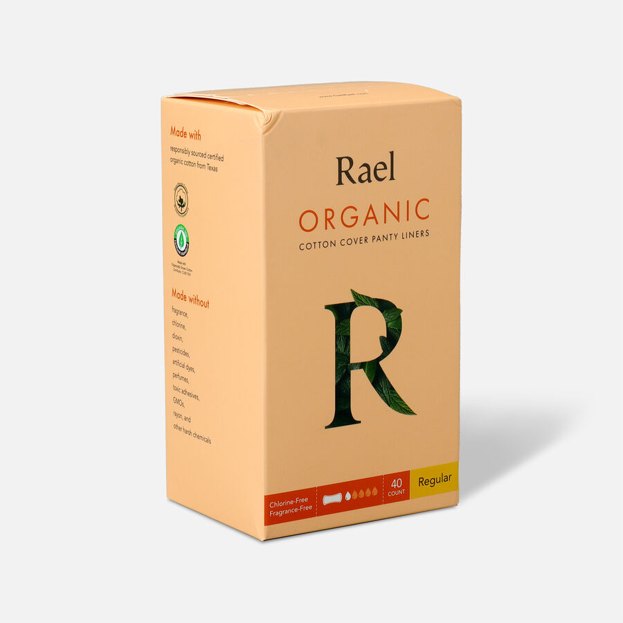 Rael Organic Cotton Cover Panty Liners - Regular, , large image number 5