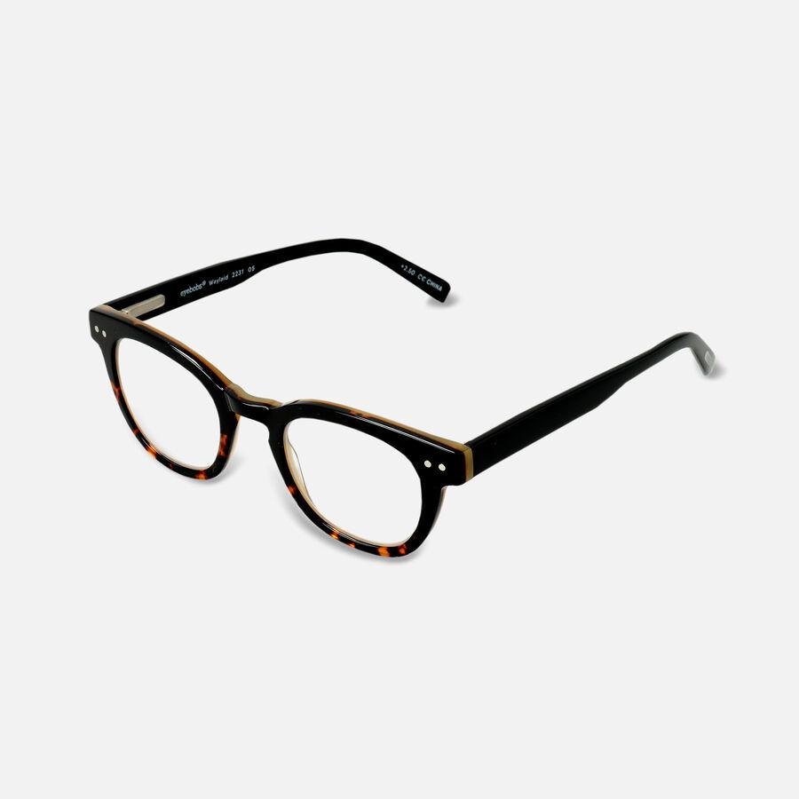 EyeBobs Waylaid Reading Glasses, Black, , large image number 10
