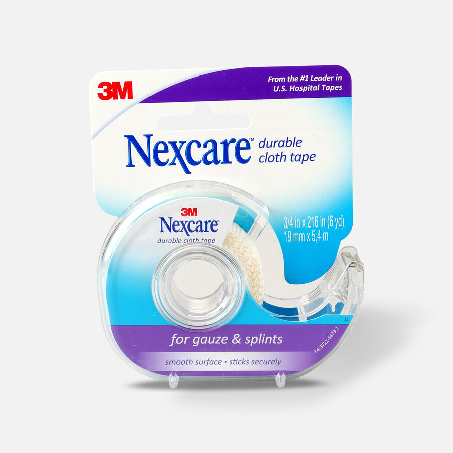 """Nexcare First-Aid Durable Cloth Tape 3/4"""" x 6yds - 1ct, , large image number 0"""