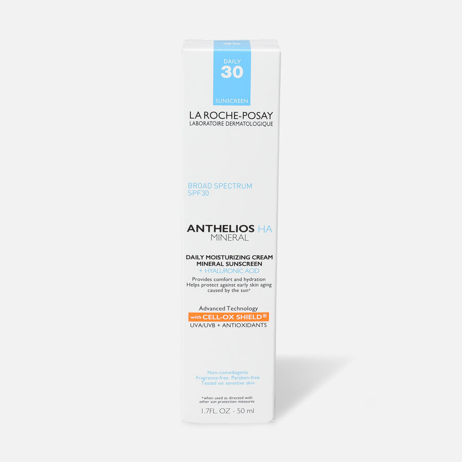 La Roche Posay Anthelios HA Mineral Sunscreen Moisturizer, SPF 30, 1.7 oz, , large image number 1