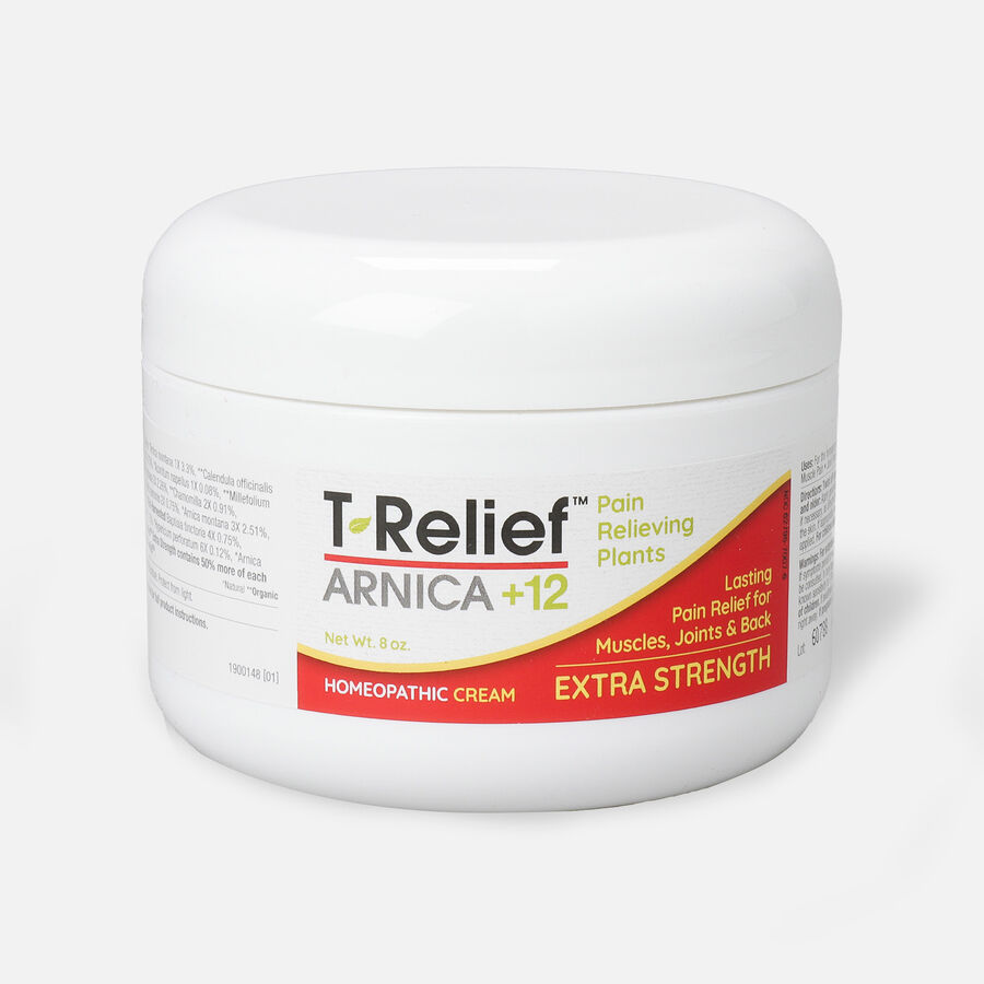 T-Relief Extra Strength Pain Relief Cream, 8 oz, , large image number 0