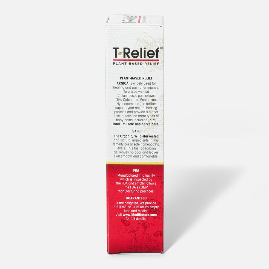 T-Relief Extra Strength Pain Relief Gel, 3 oz, , large image number 5
