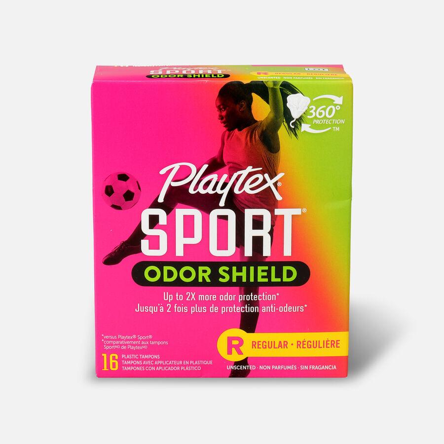Playtex Sport Odor Shield Regular Tampons, , large image number 0