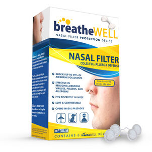 Breathe Well Nasal Filter