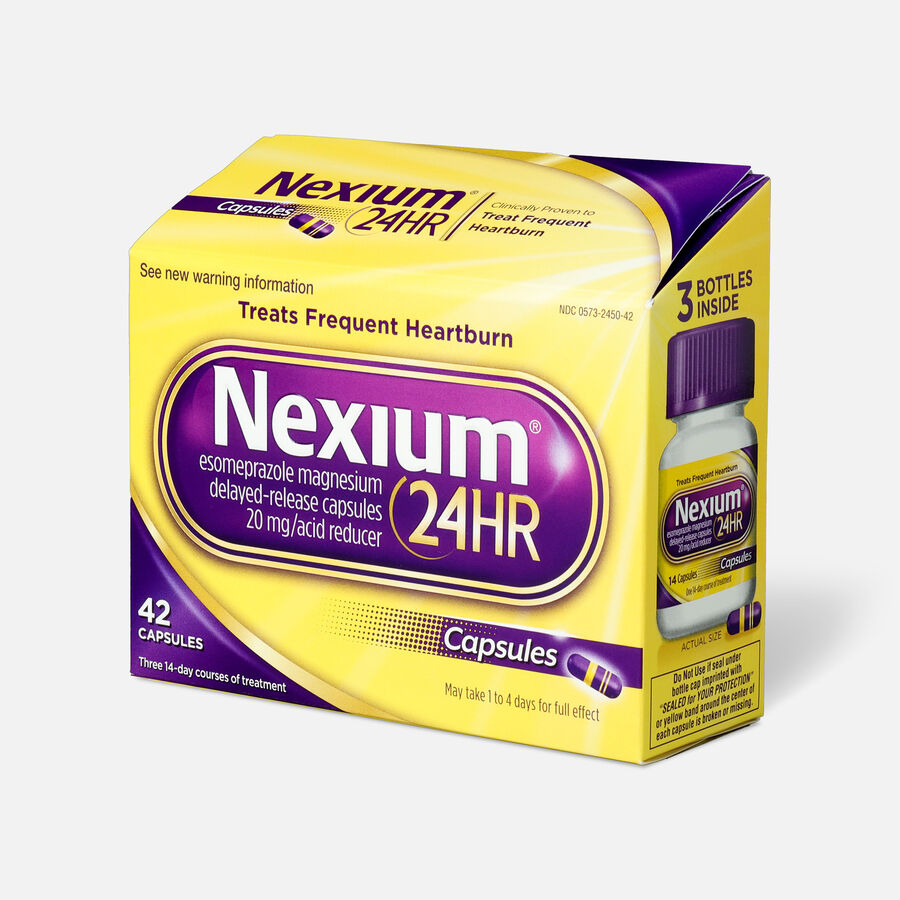 Nexium 24HR Capsules, 42 ct, , large image number 2