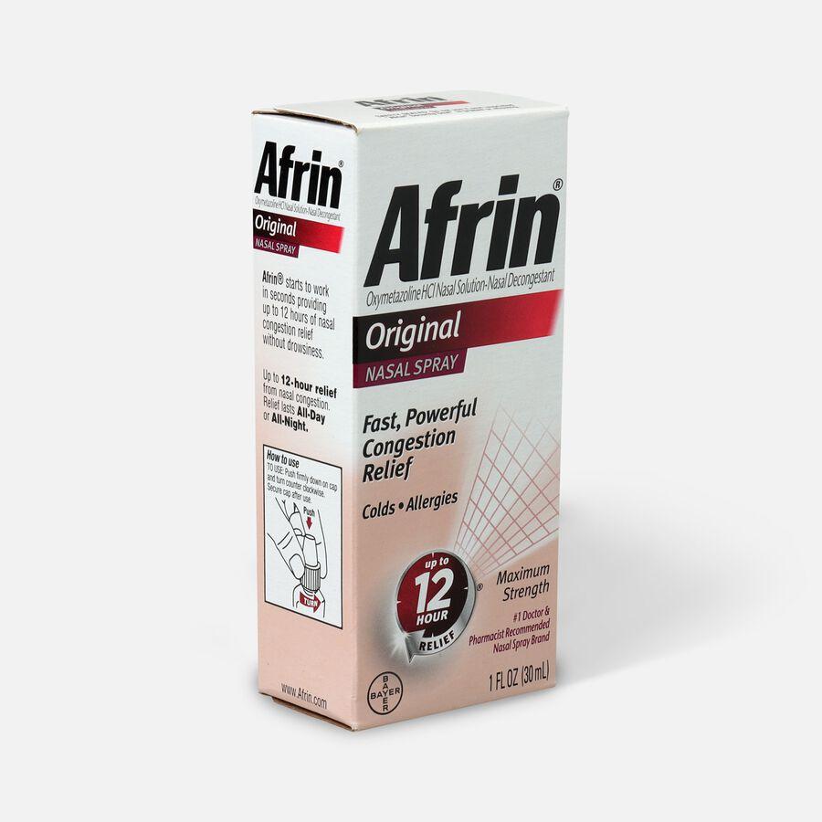 Afrin Original Nasal Spray, 1.0 oz, , large image number 2