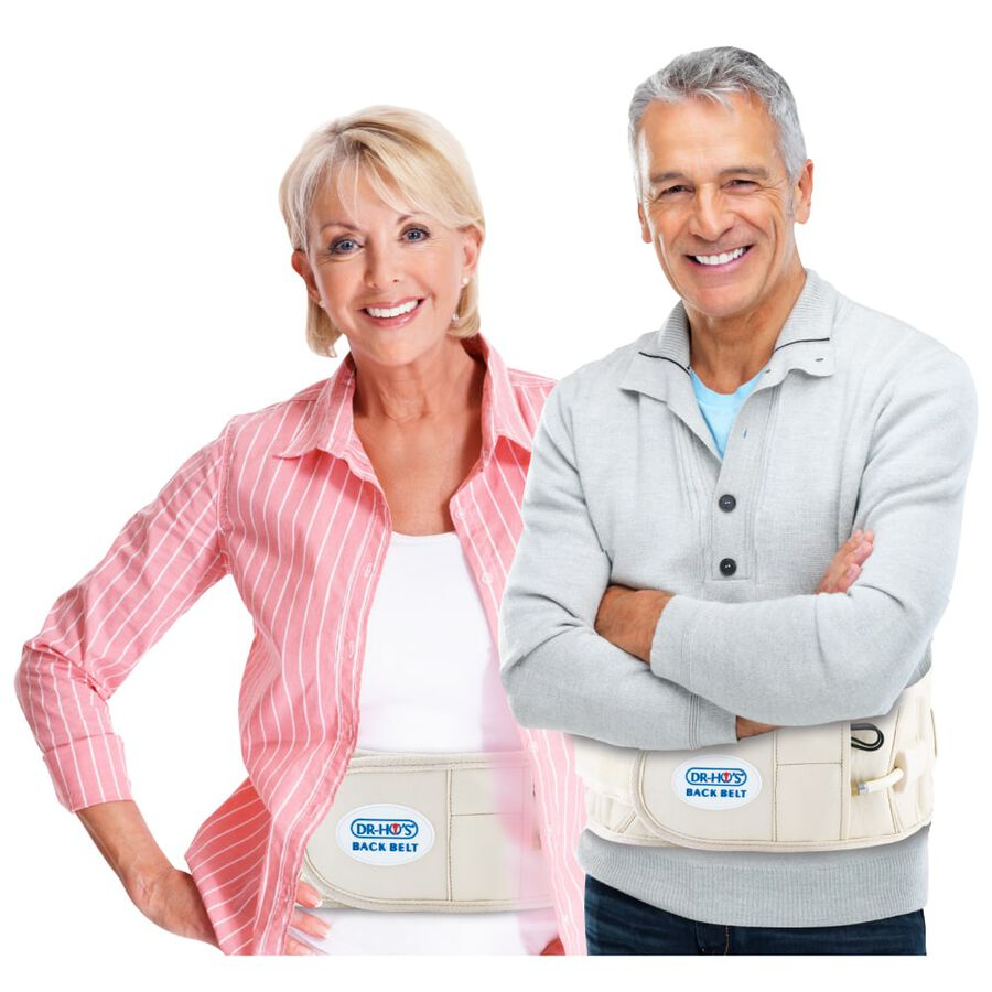 Dr-Ho's 2-in-1 Back Decompression Belt (Size A 25 to 41 inches), , large image number 13