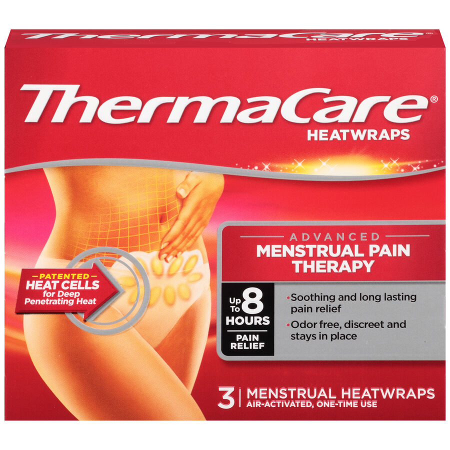 ThermaCare Menstrual Pain Therapy, 3 ct, , large image number 0