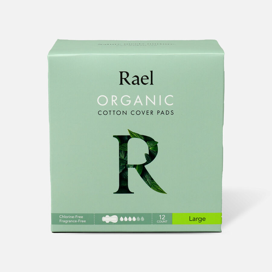 Rael Organic Cotton Cover Pads, , large image number 1