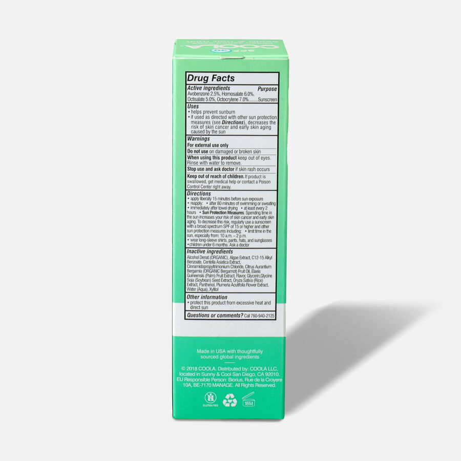 Coola Organic Scalp & Hair Mist, SPF 30, 2oz., , large image number 2