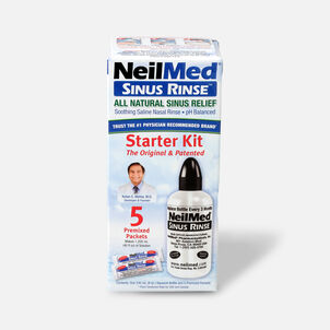 NeilMed Sinus Rinse Regular Bottle Kit, 1 kit