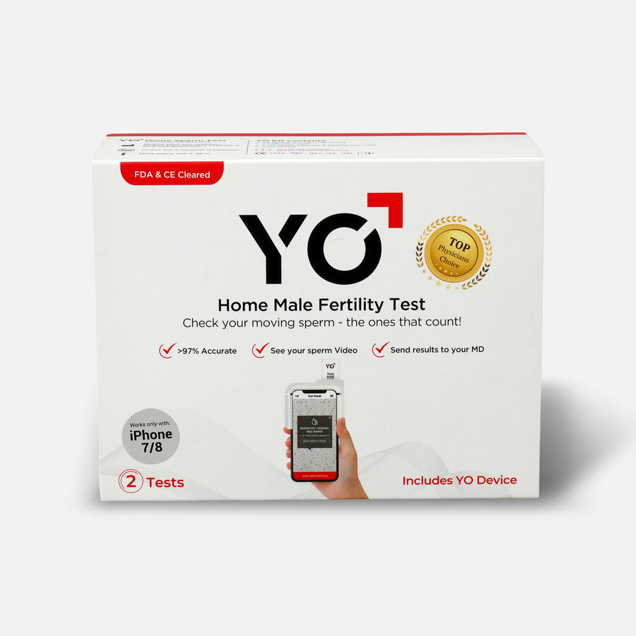 YO Home Sperm Test Kit, , large image number 0