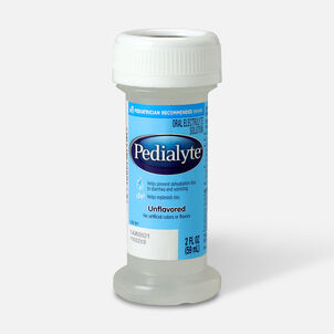 Pedialyte® Classic Electrolyte Solution, Institutional, Unflavored, 2 oz Bottle