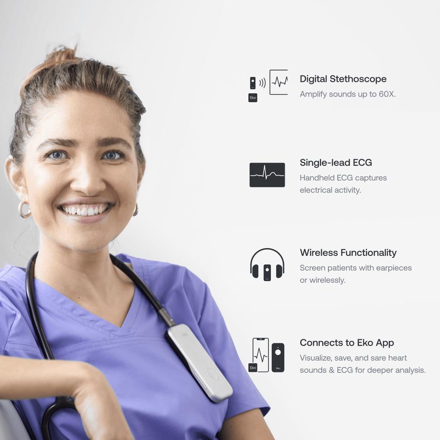 Eko DUO ECG + Digital Stethoscope, , large image number 10