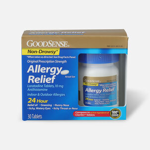GoodSense® Allergy Relief Loratadine 10 mg Tablets