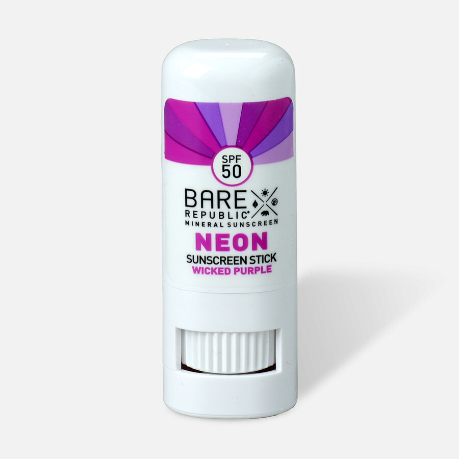 Bare Republic Mineral SPF 50 Neon Sunscreen Stick, , large image number 12