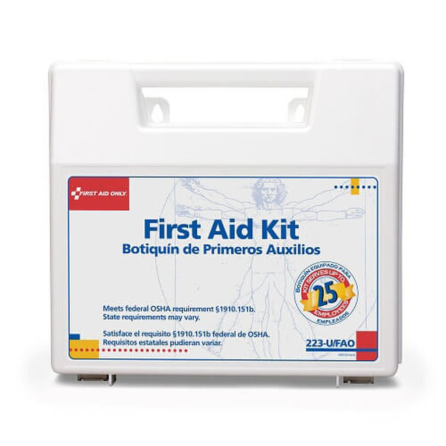 First Aid Only 25 Person First Aid Kit, 110 pcs, , large image number 1