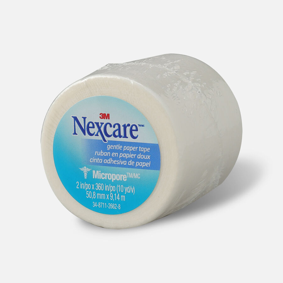 "Nexcare Gentle Paper Tape 2"" x 10 yds.- 1ct, , large image number 2"