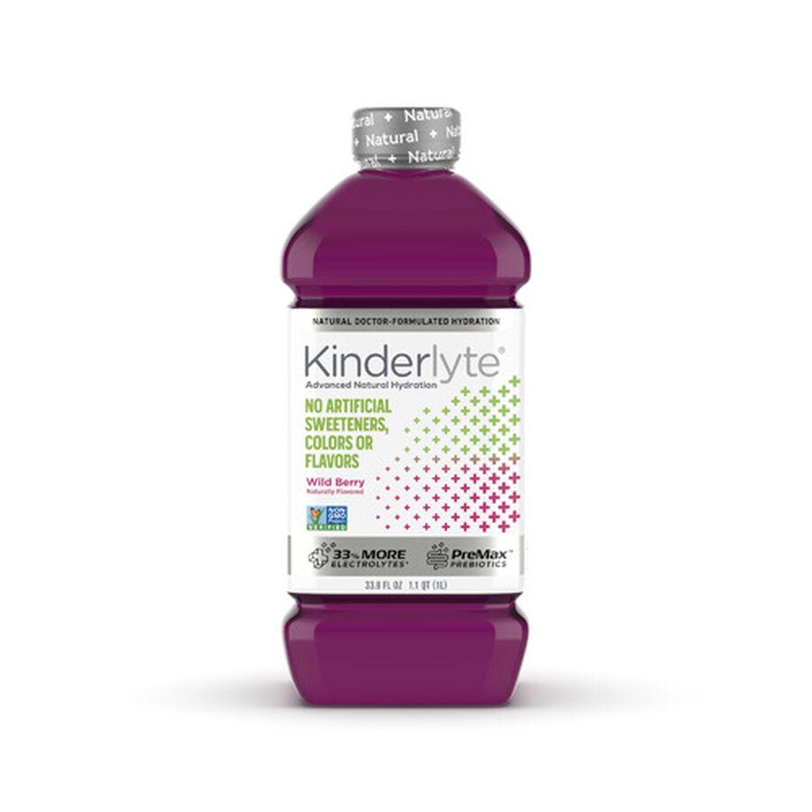 Kinderlyte Natural Advanced Oral Electrolyte Solution, Liquid, 33.8 fl. oz., , large image number 2