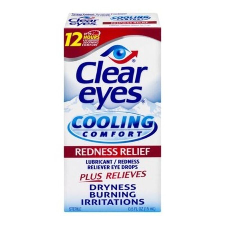 Clear Eyes Cooling Comfort Redness Relief, .5 oz, , large image number 0