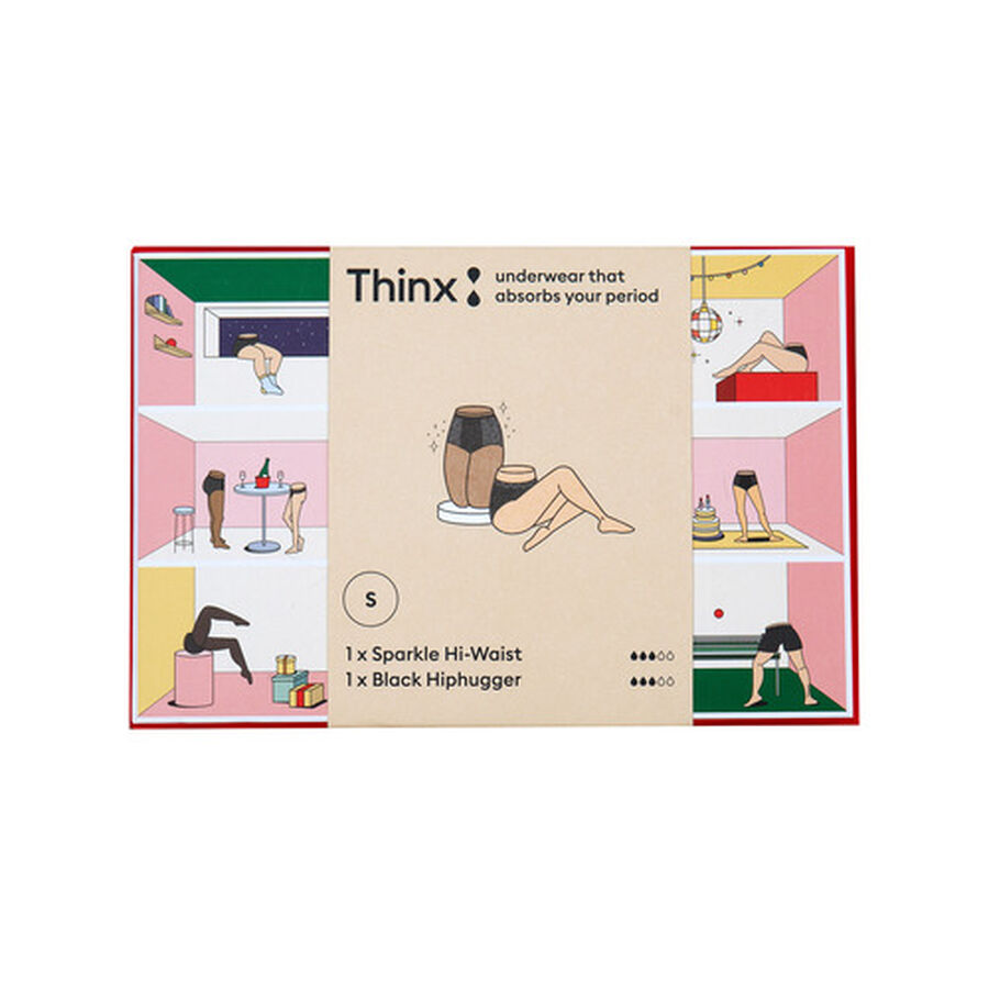 Thinx Period Proof Boxed Set, Sparkle, , large image number 1