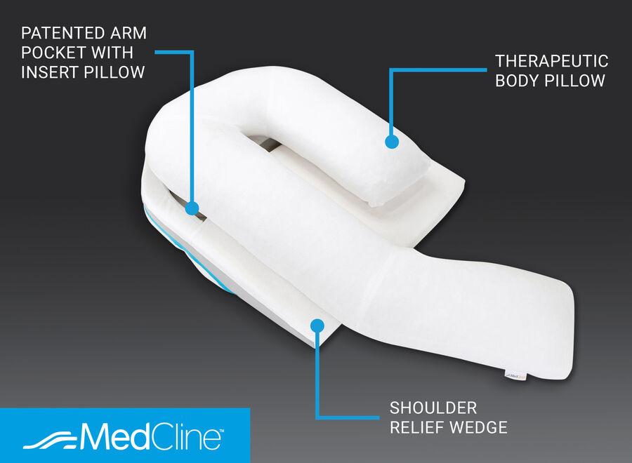 MedCline Shoulder Relief System, One Size, , large image number 2