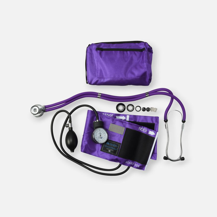 MatchMates Aneroid Sphyg Kit with Stethoscope, , large image number 1