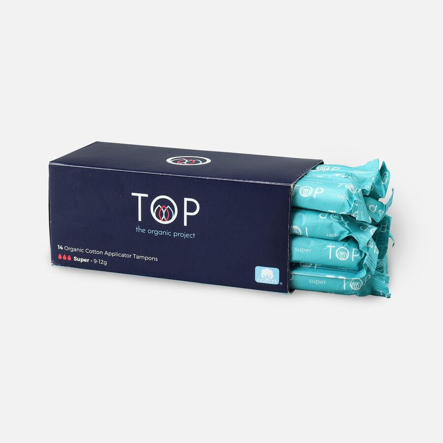 TOP Organic Cotton Cardboard Applicator Tampon, , large image number 7