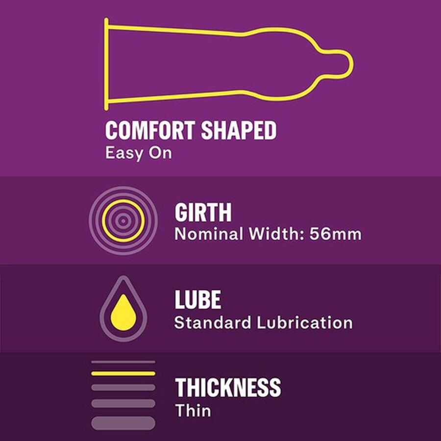 Durex Extra Sensitive Ultra Thin Condom, 24 ea, , large image number 4