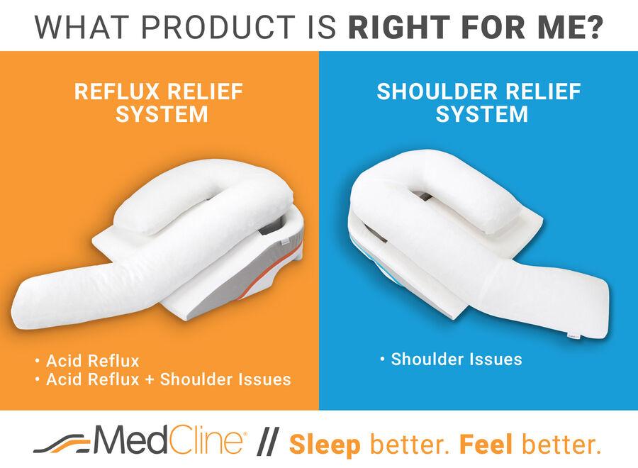 MedCline Shoulder Relief System + Extra Cases Bundle, One Size, , large image number 7