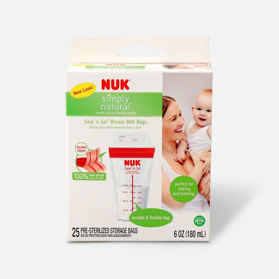 NUK® Seal 'N Go® Breast Milk Storage Bags, , large image number 0