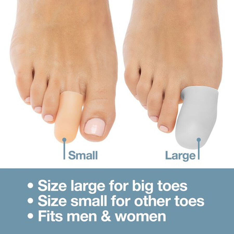 ZenToes Large Gel Toe Cap and Protector - 6 Pack, , large image number 6
