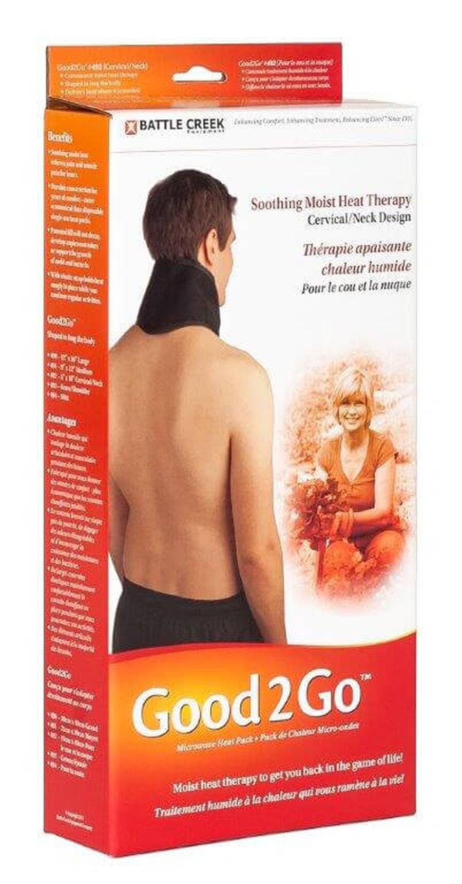Battle Creek Good2Go Microwave Heat Pack for Neck/Cervical, 1 ea, , large image number 2