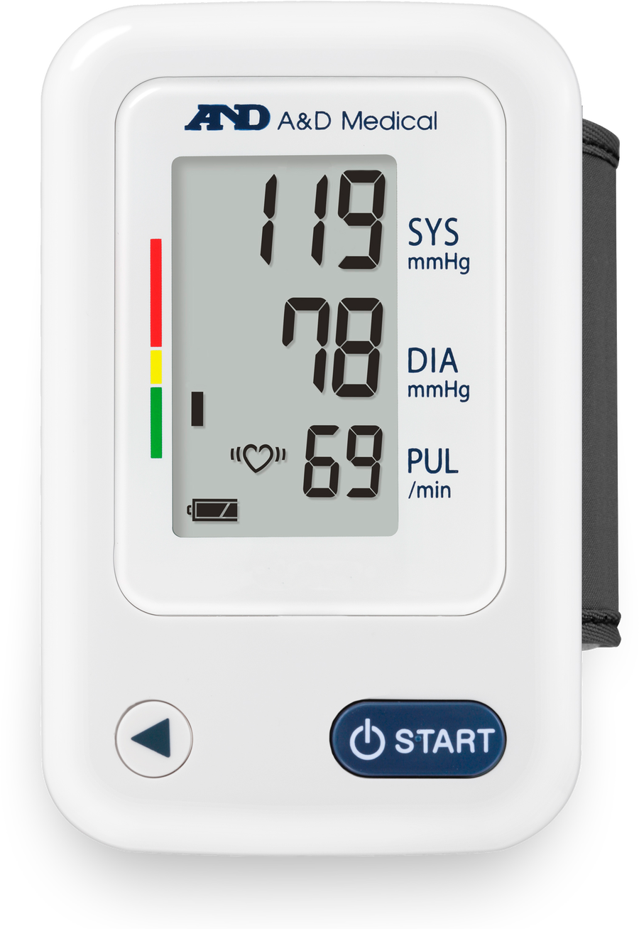A&D Automatic Wrist Blood Pressure Monitor, , large image number 0